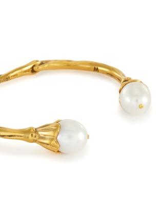 Detail View - Click To Enlarge - GOOSSENS - Pearl embellished bracelet
