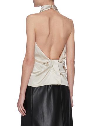 Back View - Click To Enlarge - 16ARLINGTON - 'Tana' sleeveless satin top