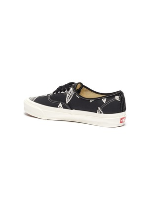 - VANS - 'Authentic LX' Leaf Graphic Print Low-top Canvas Sneakers