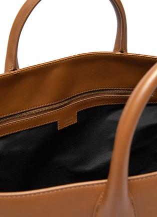 Detail View - Click To Enlarge - KHAITE - Amelia' envelop pleat medium tote bag