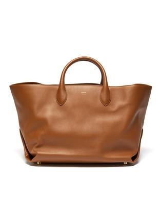 Main View - Click To Enlarge - KHAITE - Amelia' envelop pleat medium tote bag