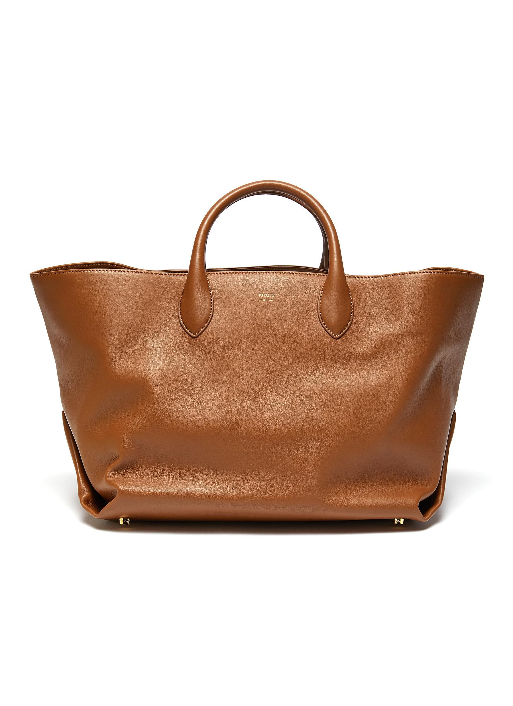Amelia' envelop pleat medium tote bag