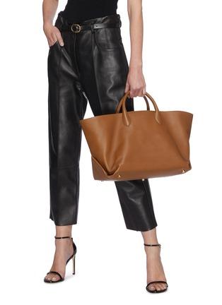 Figure View - Click To Enlarge - KHAITE - Amelia' envelop pleat medium tote bag