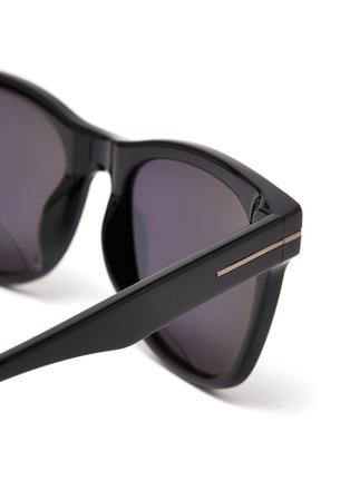 Detail View - Click To Enlarge - TOM FORD - Acetate frame wayfarer sunglasses