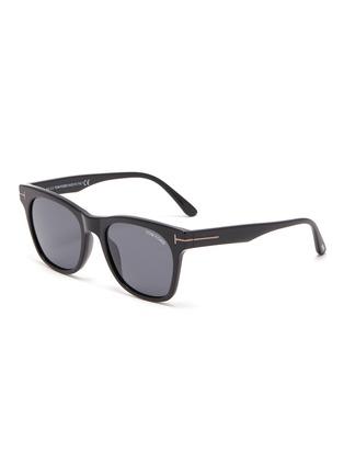 Main View - Click To Enlarge - TOM FORD - Acetate frame wayfarer sunglasses