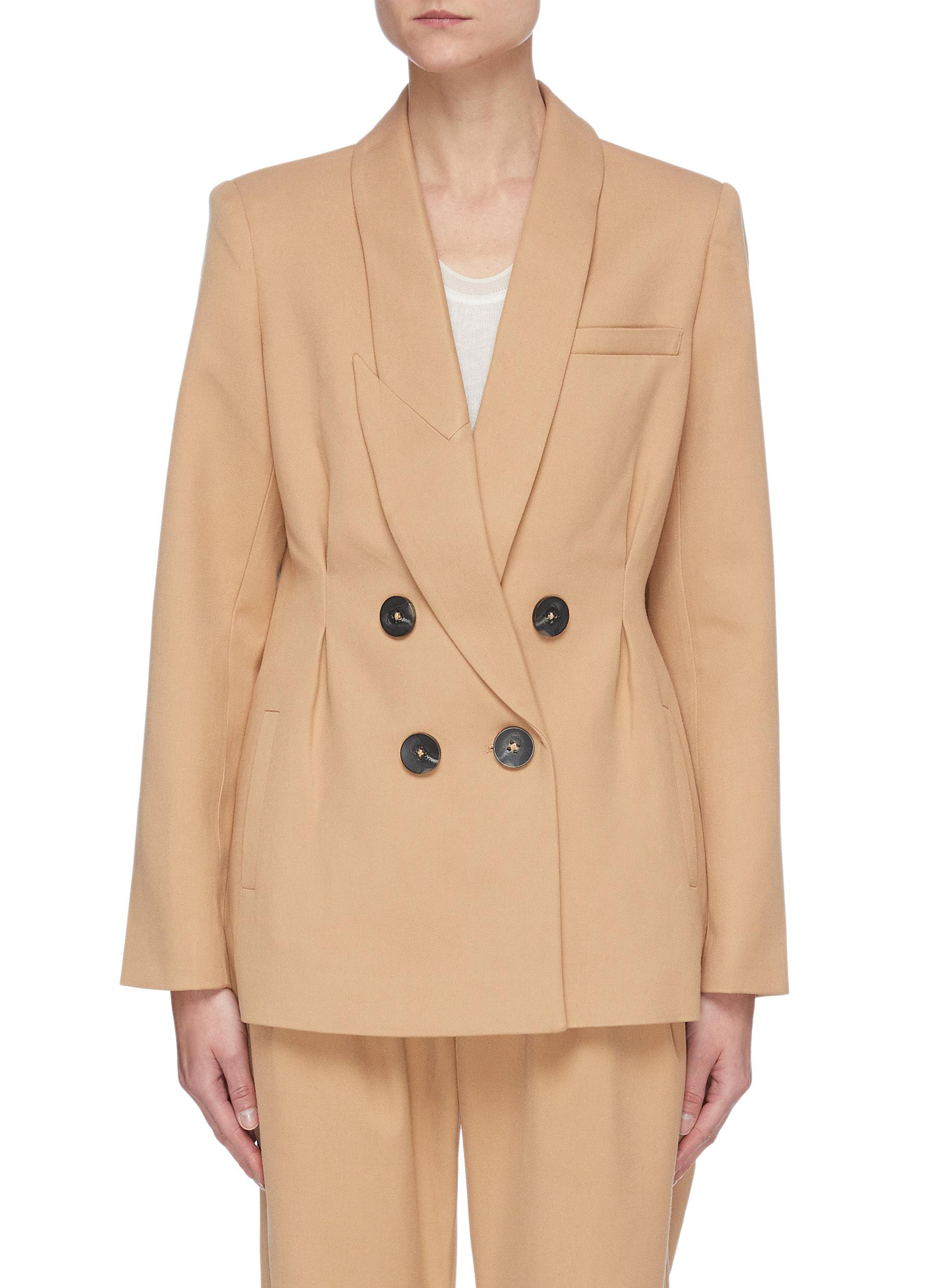Acler ALBANY' DOUBLE BREAST BLAZER