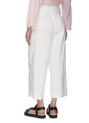 Back View - Click To Enlarge - 3.1 PHILLIP LIM - Belted Crop Wide Leg Pants