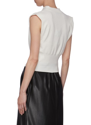 Back View - Click To Enlarge - 3.1 PHILLIP LIM - Cowl Neck Sleeveless Blouse