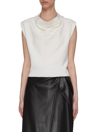 Main View - Click To Enlarge - 3.1 PHILLIP LIM - Cowl Neck Sleeveless Blouse