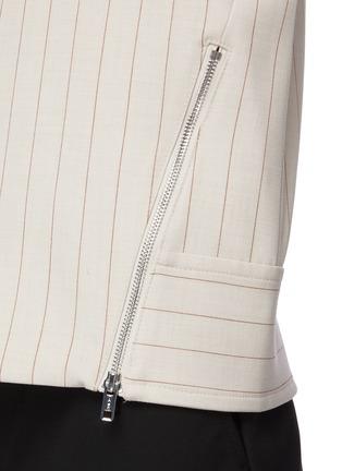- 3.1 PHILLIP LIM - Side Zip Cowl Neck Rib Cuff Sweater