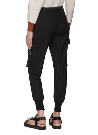 Back View - Click To Enlarge - 3.1 PHILLIP LIM - Cargo Pocket Cuff Leg Pants