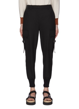 Main View - Click To Enlarge - 3.1 PHILLIP LIM - Cargo Pocket Cuff Leg Pants