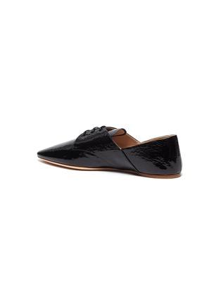 - MIU MIU - Patent leather oxford shoes