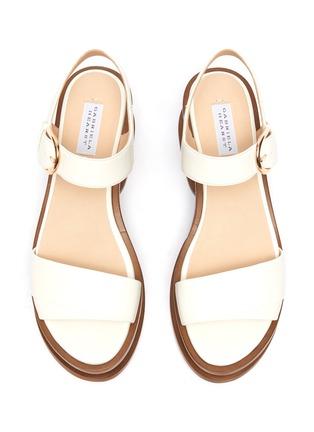 Detail View - Click To Enlarge - GABRIELA HEARST - 'Mika' cork wedge platform sandals