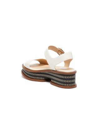 - GABRIELA HEARST - 'Mika' cork wedge platform sandals