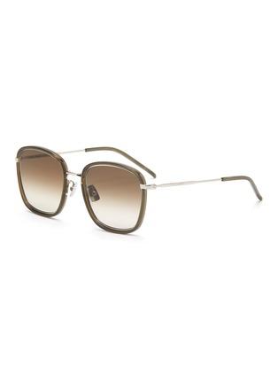 Main View - Click To Enlarge - SAINT LAURENT - Square acetate frame sunglasses