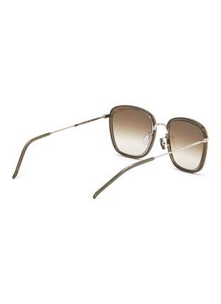Figure View - Click To Enlarge - SAINT LAURENT - Square acetate frame sunglasses