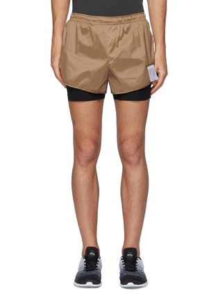 Main View - Click To Enlarge - SATISFY - TRAIL LONG DISTANCE 3''' JUSTICE™ LINED SHORTS