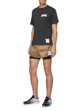 Figure View - Click To Enlarge - SATISFY - TRAIL LONG DISTANCE 3''' JUSTICE™ LINED SHORTS