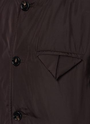 - BOTTEGA VENETA - Front button chest pocket jacket