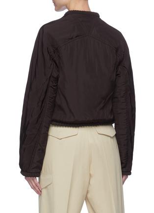 Back View - Click To Enlarge - BOTTEGA VENETA - Front button chest pocket jacket