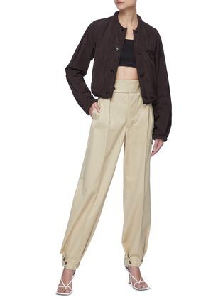 Figure View - Click To Enlarge - BOTTEGA VENETA - Front button chest pocket jacket