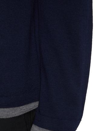 - VINCE - Double Layer Crewneck Sweater