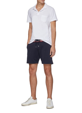 Figure View - Click To Enlarge - ORLEBAR BROWN - 'Afador' tricolour stripe shorts