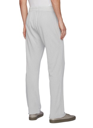 Back View - Click To Enlarge - JAMES PERSE - Drawstring waist cotton sweatpants