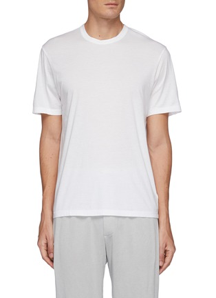 Main View - Click To Enlarge - JAMES PERSE - Elevated jersey crewneck T-shirt