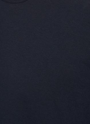 - JAMES PERSE - Crewneck cotton T-shirt