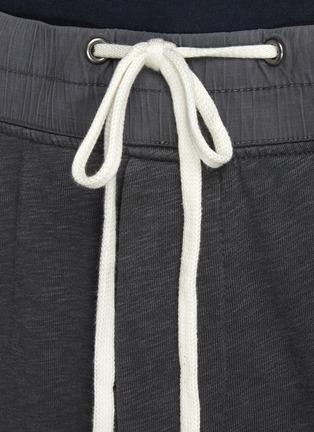 - JAMES PERSE - Drawstring waist cotton sweatpants