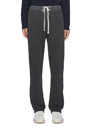 Main View - Click To Enlarge - JAMES PERSE - Drawstring waist cotton sweatpants