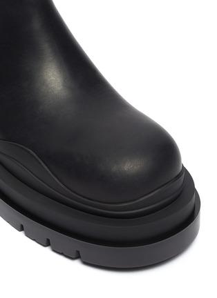 Detail View - Click To Enlarge - BOTTEGA VENETA - 'Tire' Platform Tread Sole Ankle Chelsea Boots