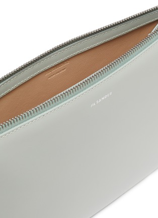 Detail View - Click To Enlarge - JIL SANDER - Tootie' Side Handle Small Leather Bag