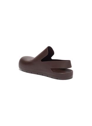 - BOTTEGA VENETA - Rubber slingback sandals