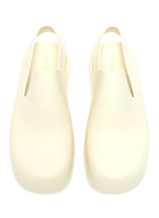 Detail View - Click To Enlarge - BOTTEGA VENETA - Rubber Slingback sandals