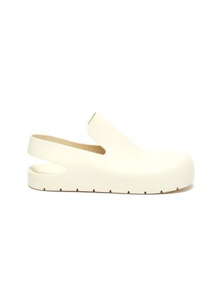 Main View - Click To Enlarge - BOTTEGA VENETA - Rubber Slingback sandals
