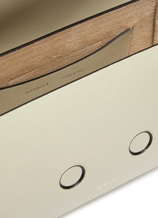 Detail View - Click To Enlarge - WANDLER - 'Georgia' leather shoulder bag