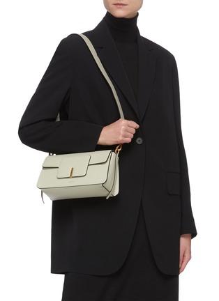 Figure View - Click To Enlarge - WANDLER - 'Georgia' leather shoulder bag