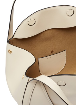 Detail View - Click To Enlarge - WANDLER - 'Lin' double strap leather tote bag