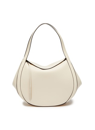 Main View - Click To Enlarge - WANDLER - 'Lin' double strap leather tote bag