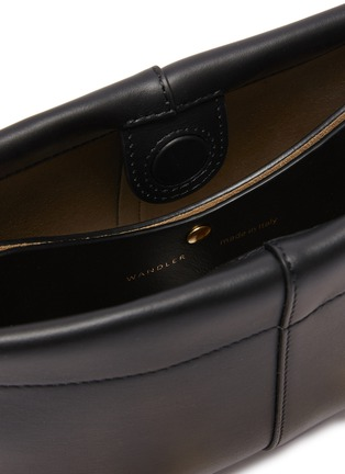 Detail View - Click To Enlarge - WANDLER - 'Carly' heavy chain mini leather shoulder bag