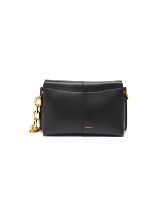 Main View - Click To Enlarge - WANDLER - 'Carly' heavy chain mini leather shoulder bag