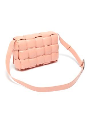 Detail View - Click To Enlarge - BOTTEGA VENETA - 'Cassette' Padded Intrecciato Leather Crossbody Bag