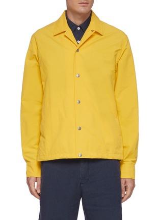 Main View - Click To Enlarge - RAG & BONE - 'Finlay' Packable Nylon Cotton Blend Shirt Jacket