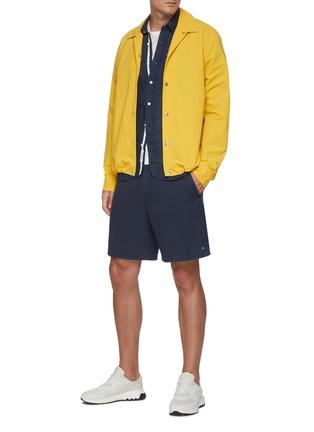 Figure View - Click To Enlarge - RAG & BONE - 'Finlay' Packable Nylon Cotton Blend Shirt Jacket