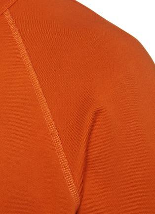 - RAG & BONE - 'Driscoll' Frayed Edge Cotton Raglan T-shirt
