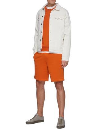 Figure View - Click To Enlarge - RAG & BONE - 'Driscoll' Frayed Edge Cotton Raglan T-shirt