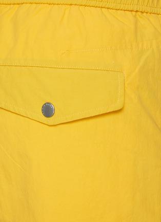 - RAG & BONE - 'Eaton' Elastic Waist Nylon Cotton Blend Shorts
